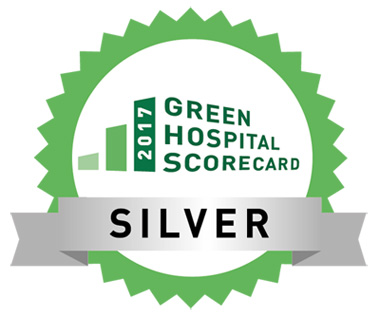 2017 Green Hospital Scorecard Silver award