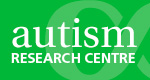 Autism Research Centre button