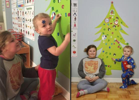 Making a tree is as fun as buying one, and more kid-friendly