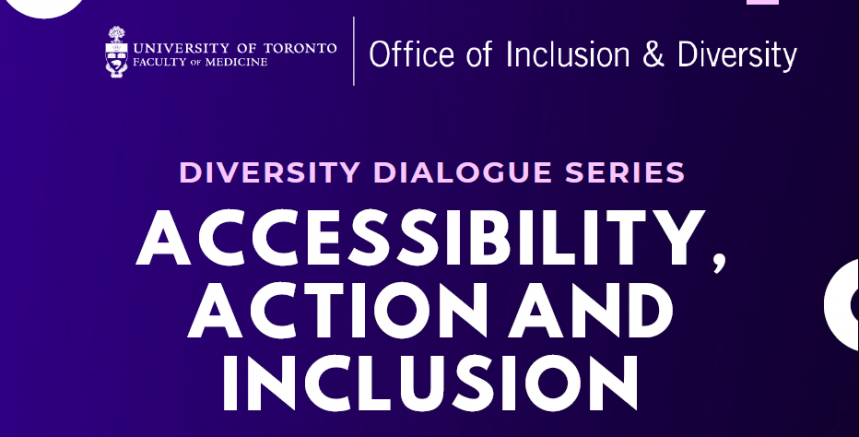 Diversity Dialogue Series - Accessibility, Action and Inclusion Panel