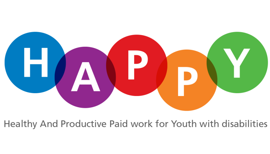 Healthy and Productive Paid Work for youth with disabilities logo