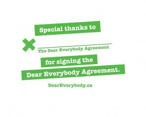 Dear Everybody Agreement