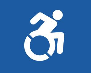 accessible parking icon