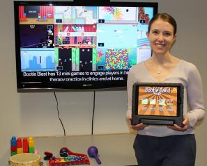 Dr. Elaine Biddiss has received a CIHR grant to launch a pilot study of Bootle Blast, a mixed-reality video game to help children improve their upper motor function.