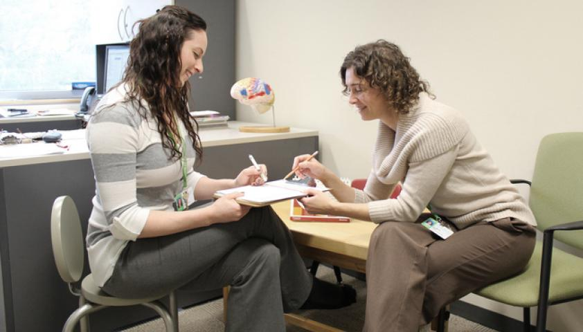 An interdisciplinary team works together to provide assessment and treatment