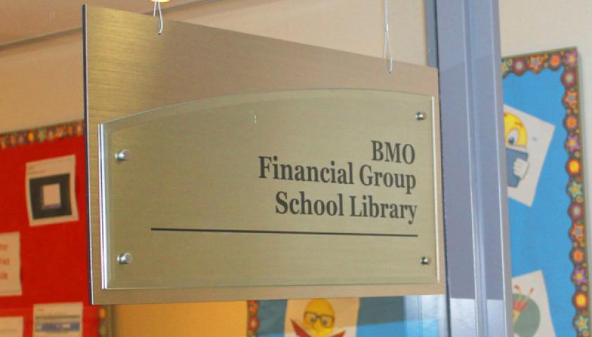 BMO Financial Group School Library