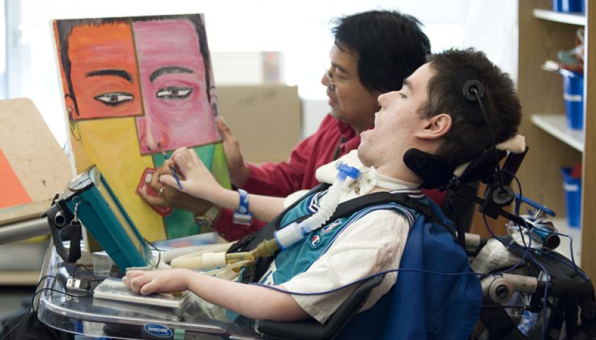 Offering children of all abilities the opportunity to participate in creative expression