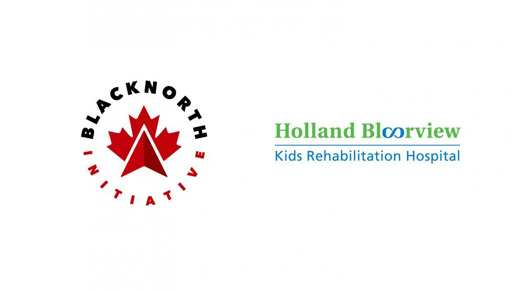 BlackNorth Initiative logo and Holland Bloorview logo