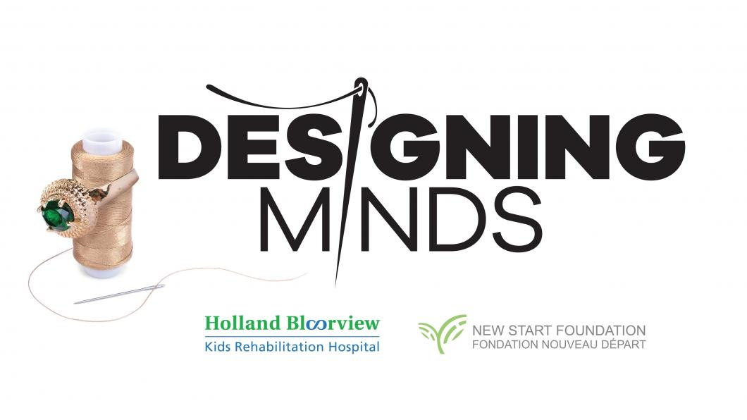 designing minds logo with partners