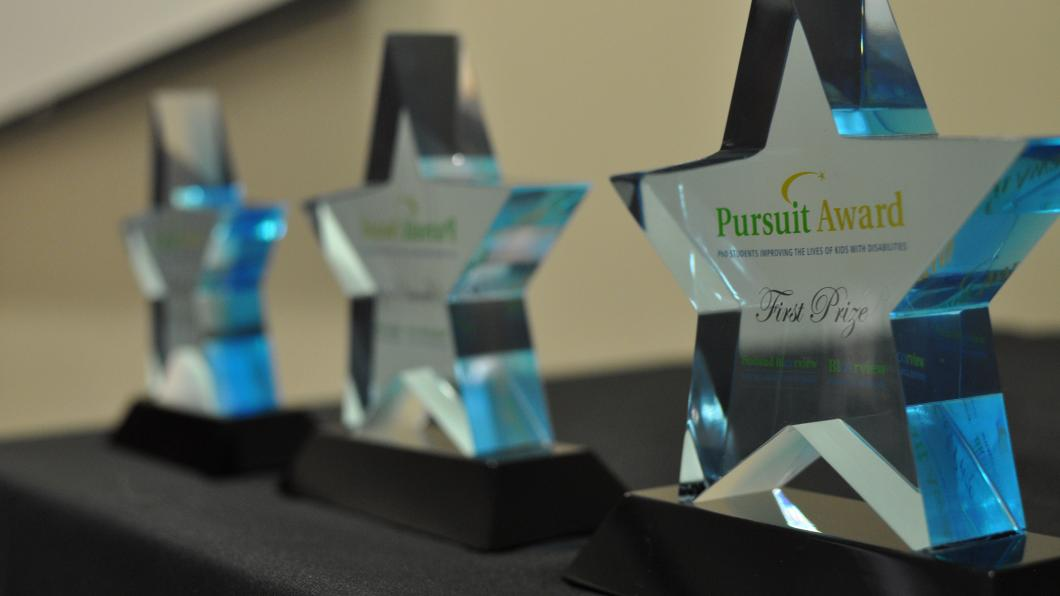 2018 Pursuit Award Ceremony celebrates cutting-edge research in childhood disability from across the world