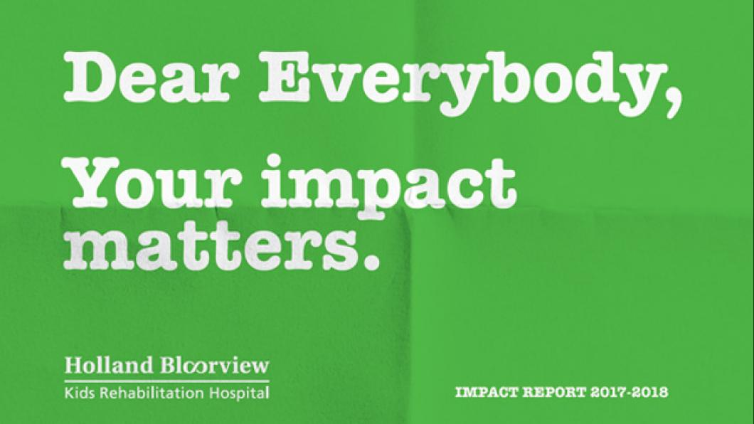 Read our Impact Report 2017-2018  With the support of our