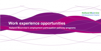 Youth work experience participation program banner